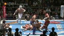 Ten-Koji (Hiroyoshi Tenzan & Satoshi Kojima) & El Desperado vs. Kota Ibushi, Manabu Nakanishi & Yuji Nagata (NJPW)