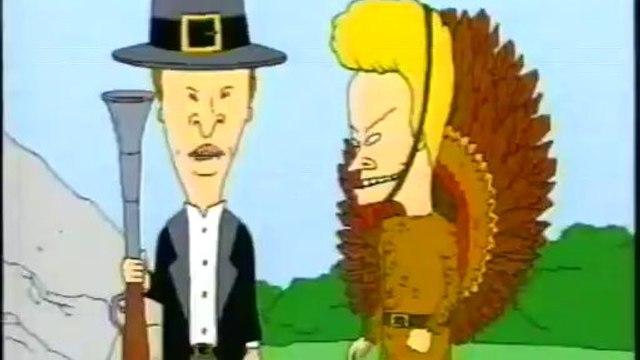 Beavis & Butt-Head are Dead + Thanksgiving Special Promo ('97)