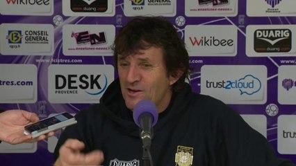 Istres - Créteil, La réaction du coach José Pasqualetti