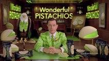 Stephen Colbert devient dingue de pistaches!! Pub Superbowl 2014 Wonderful Pistachios