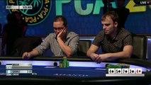 PCA 2014 - turniej pokerowy na żywo - Turniej Główny PCA, dzień 5