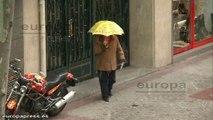 El País Vasco se recupera del fuerte temporal