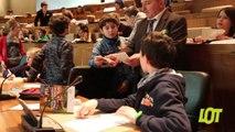Conseil général jeunes : l'assemblée des collégiens du Lot
