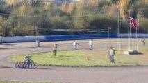 Speedway Motorcycle Racing Heat 3 - 4 Bikes