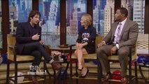Josh Groban on Live with Kelly and Michael talking about Feedback Kitchen