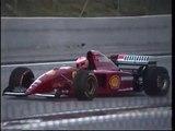 Ferrari 1996 F1 Essais Libres Test Session Formula One Formule1 Michael Schumacher Essais Circuit Track Paul Ricard Castellet France Video