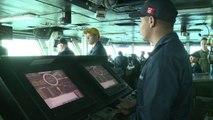 En mer d'Oman, les forces françaises et américaines coopèrent