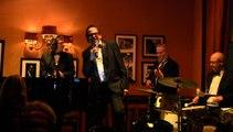 """Banana boat song - Alan Landry """"Legendary voice of Monte Carlo""""  at Hotel de Paris, Monte Carlo"""