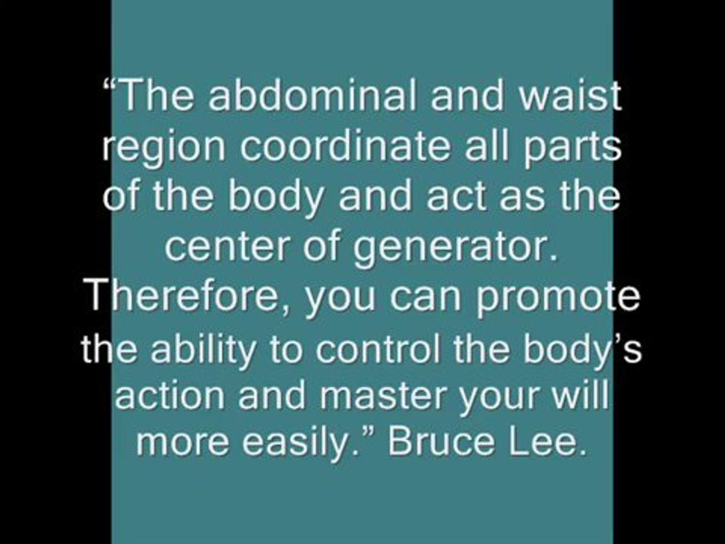 BRUCE LEE: ABS WORKOUT AND TRAINING TIPS - Fitness/Bodybuilding/Martial Arts