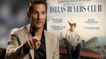 Dallas Buyers Club: McConaughey and Leto interviews