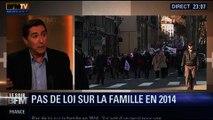 Le Soir BFM: Projet de loi famille: Pourquoi Matignon recule-t-il ? - 03/02 3/5