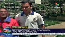 Venezuela: Misión Sucre ha graduado a más de 379 mil en 10 años