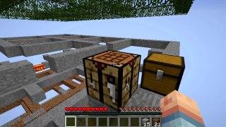 Minecraft Mod : Hack/Mine - Episode 2 - (Conquering my first