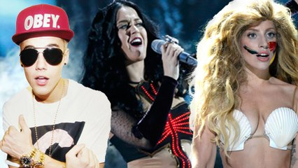 Katy Perry Beats Lady Gaga And Justin Bieber