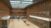 Lycée Kyoto Poitiers 1er d'Europe à zéro énergie fossile François Gillard son architecte nous explique les grands principes techniques à l'oeuvre