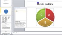 Lesson 10.11 Inserting SmartArt - MS PowerPoint by Microsoft Office Power Point 2010  free online video Training Tutorials Urdu and Hindi language