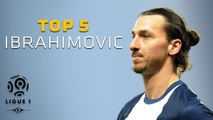 Zlatan Ibrahimovic - Top 5 Buts - Ligue 1 / Paris Saint-Germain