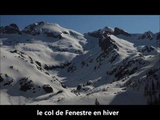 La route du sel entre Nice et le Piémont