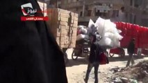 GRAPHIC: Amateur video shows aftermath of bombs in Aleppo