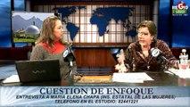 Cuestion de Enfoque Entrevista a Maria Elena Chapa Febrero 2014