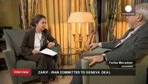 """""""L'Iran n'a pas de forces armées en Syrie,"""" dit le ministre iranien Mohammad Javad Zarif"""