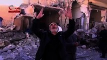 Russia meets with Syria opposition as civilians flee bombs
