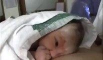Guardate cosa fa questo bimbo appena nato. Non ci crederete