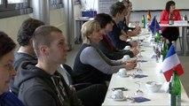 Formation emploi : stagiaires transfrontaliers diplômés de l'Industrie und Handelskammer allemande.