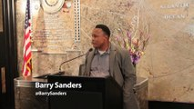 Legendary Hall of Fame Running Back Barry Sanders #InTheLab