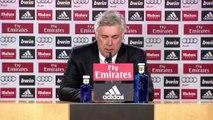 Carlo Ancelotti valora el trabajo de Jesé... pero 'Bale jugará el sábado'