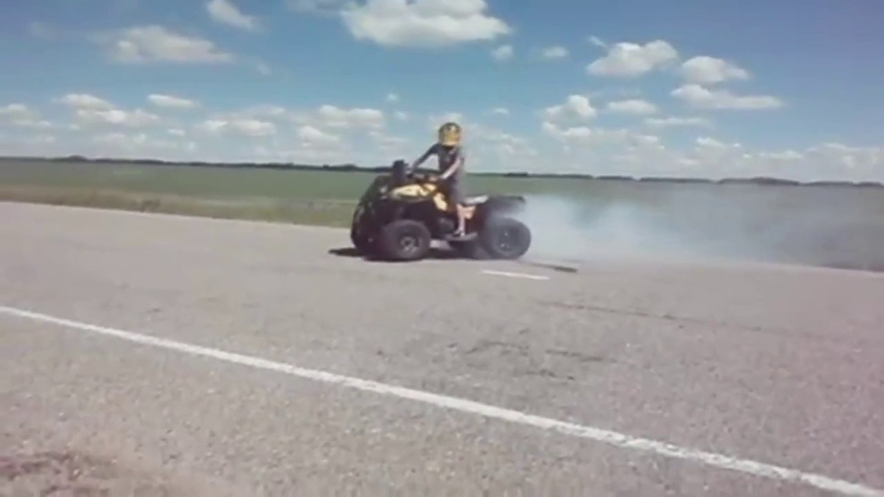 Can Am Renegade 800r Burnout