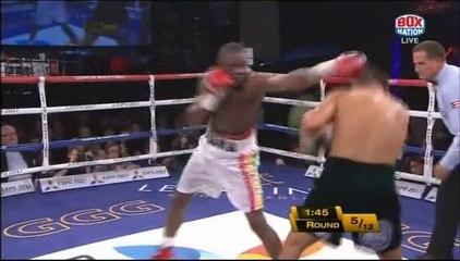 Gennady Golovkin vs Osumanu Adama 2014-02-01