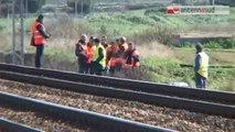 TG 05.02.14 Cadavere sui binari a Bari, disagi al traffico ferroviario