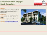 Concorde Amber Sarjapur Road Bangalore New Launch by Concorde Group