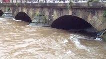 Inondation : L'Odet monte, Quimper se prépare au pire