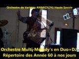 orchestre de Variétés ANNECY (74) Haute Savoie