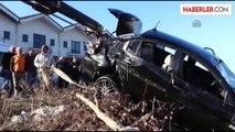 Artvin'de Cenaze Dönüşü Kaza: 4 Yaralı