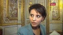 Najat Vallaud-Belkacem sur la demande de levée d'immunité parlementaire de Serge Dassault