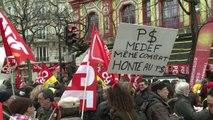 Social: la CGT pour l'emploi et contre le pacte de Hollande