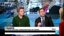 Le débat de France 24 - Le Front national s'enracine dans les terres (partie 2)