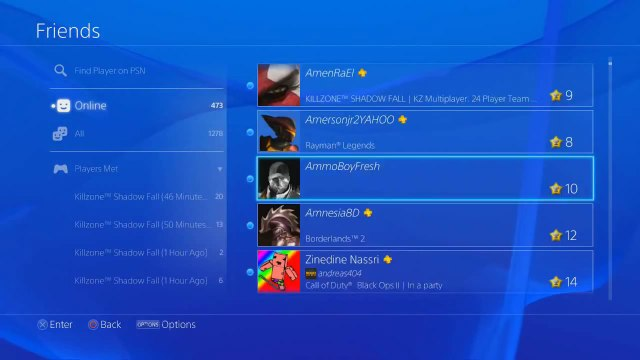 PSN Users Complain About Friends List Disappearing