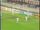 1995 (April 19) AC Milan (Italy) 2- Paris St Germain (France) 0 (Champions League)-semifinals, second leg, version 2