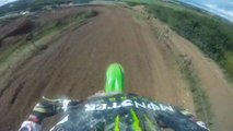 Apex Moto Park Kx125 Dirt Bike Track Action