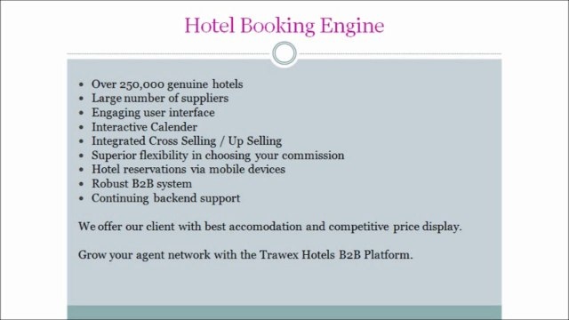 Trawex - Travel Software India, Travel Software Development, Hotel Reservation System, Flight Reservation System