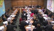 4 février 2014, Audition de Nicolas Hulot : Bertrand Pancher souligne l'exaspération générale des ONG face à l'incapacité de notre gouvernement  à atteindre les objéctifs écologiques fixés et dénonce un manque de stratégie d'ensemble