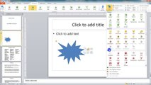 Lesson 15.9 Adding Multiple Animations - MS PowerPoint Urdu and Hindi language by Microsoft Office Power Point 2010  free online video Training Tutorials