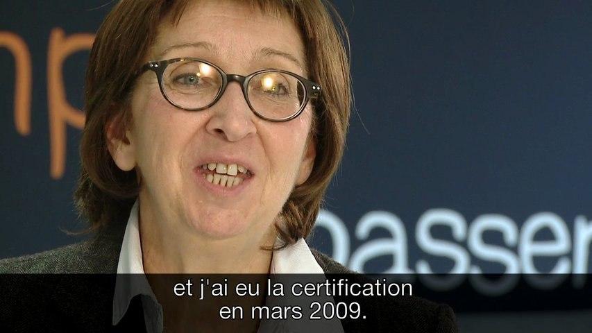 Orange - la certification, avec Monique