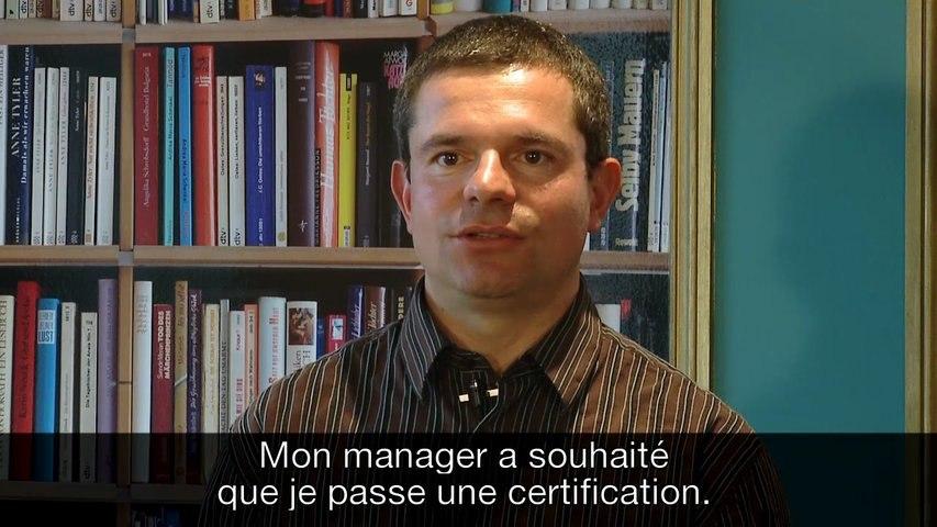 Orange - la certification, avec Bruno