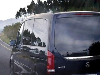 Le monospace Mercedes Classe V peut accueillir jusqu'à huit personnes
