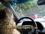 Dog drives car for Uk's top horse racing tipster to take him to the racesDog drives car for Uk's top horse racing tipster to take him to the races